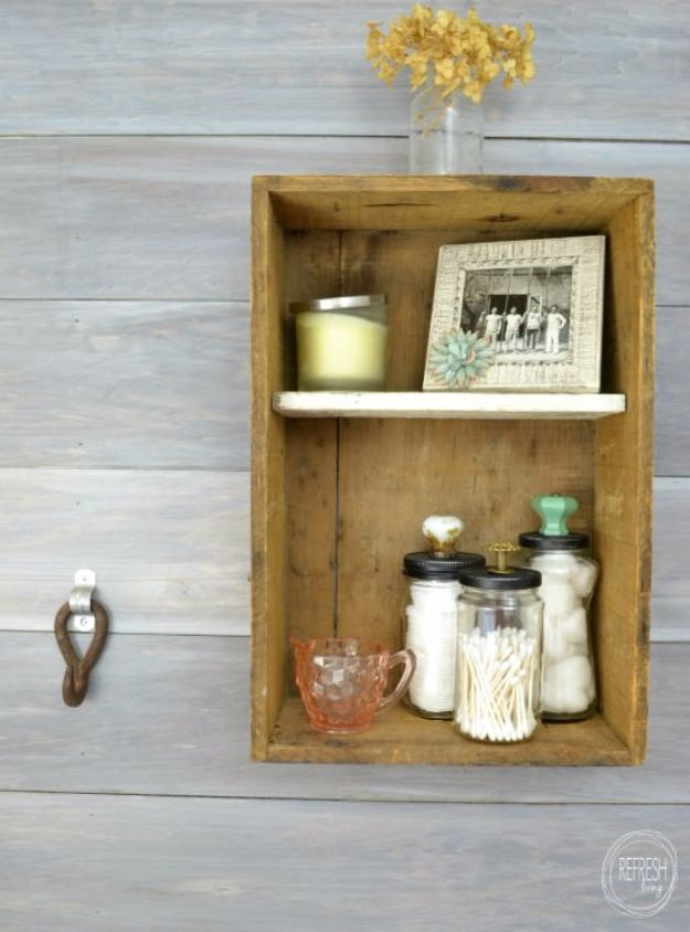 DIY Bathroom Storage Ideas - Reuse Old Glass Jars for Bathroom Organization - Best Solutions for Under Sink Organization, Countertop Jars and Boxes, Counter Caddy With Mason Jars, Over Toilet Ideas and Shelves, Easy Tips and Tricks for Small Spaces To Organize Bath Products http://diyjoy.com/diy-bathroom-storage-ideas