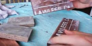 Watch How She Makes A Clever Rustic Item After Stenciling And Sanding Wood Pieces!