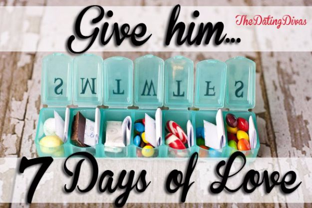 DIY Valentines Day Gifts for Him - Seven Days of Love - Cool and Easy Things To Make for Your Husband, Boyfriend, Fiance - Creative and Cheap Do It Yourself Projects to Give Your Man - Ideas Guys Love These Ideas for Car, Yard, Home and Garage - Make, Don't Buy Your Valentine