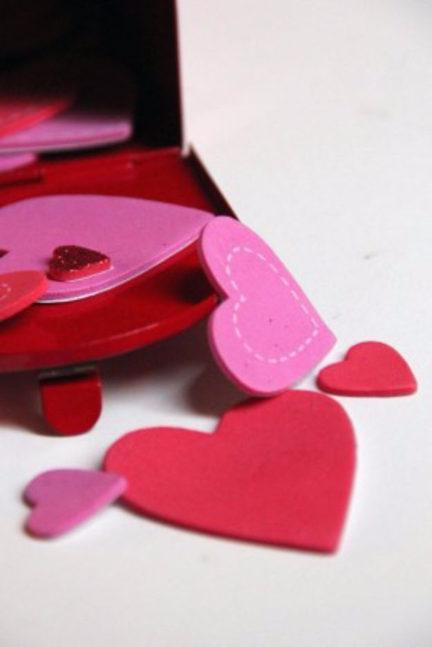 Cool Games To Make for Valentines Day - Spot The Hearts - Cheap and Easy Crafts For Valentine Parties - Ideas for Kids and Adults to Play Bingo, Matching, Free Printables and Cute Game Projects With Hearts, Red and Pink Art Ideas - Adorable Fun for The Holiday Celebrations #valentine #valentinesday