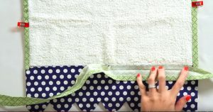 Scalloped Tea Towel Sewing Tutorial