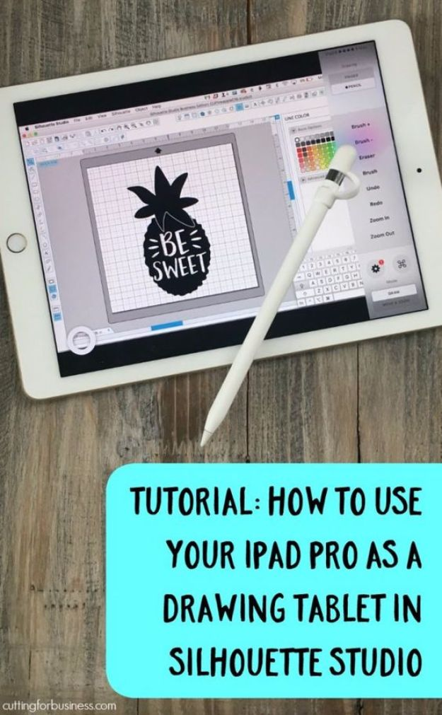 752b02780f9 Best Ipad Tips and Tricks - Use iPad Pro as a Drawing Tablet in Silhouette  Studio