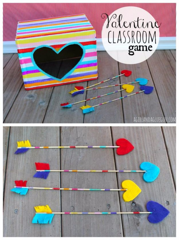 Cool Games To Make for Valentines Day - Valentine Classroom Game - Cheap and Easy Crafts For Valentine Parties - Ideas for Kids and Adults to Play Bingo, Matching, Free Printables and Cute Game Projects With Hearts, Red and Pink Art Ideas - Adorable Fun for The Holiday Celebrations #valentine #valentinesday