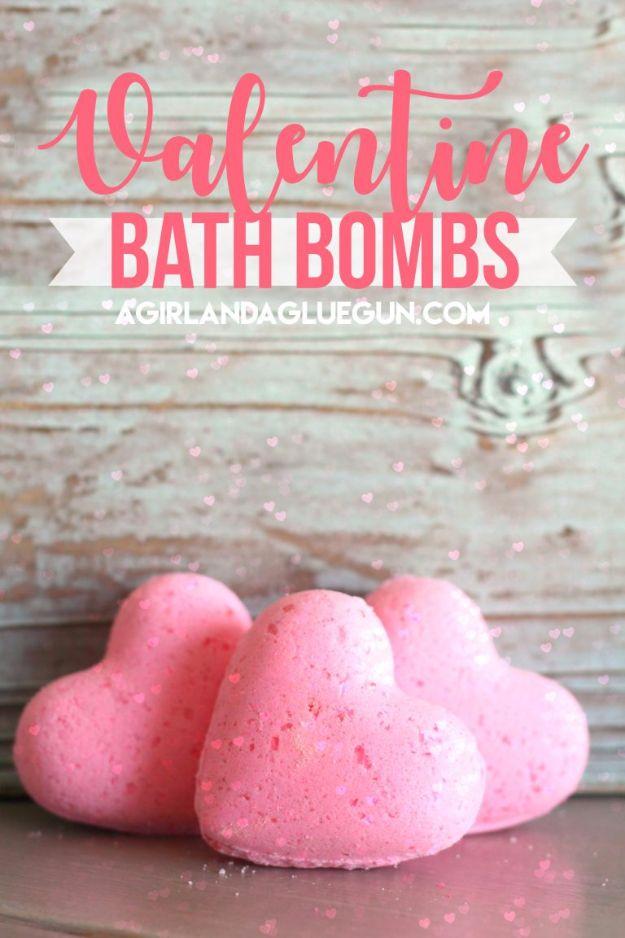 Valentine Confetti Bath Bombs