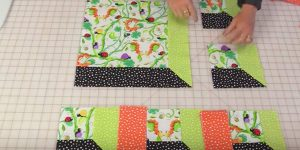She Makes The Coolest Quilt Block That Looks Like An Attic Window!