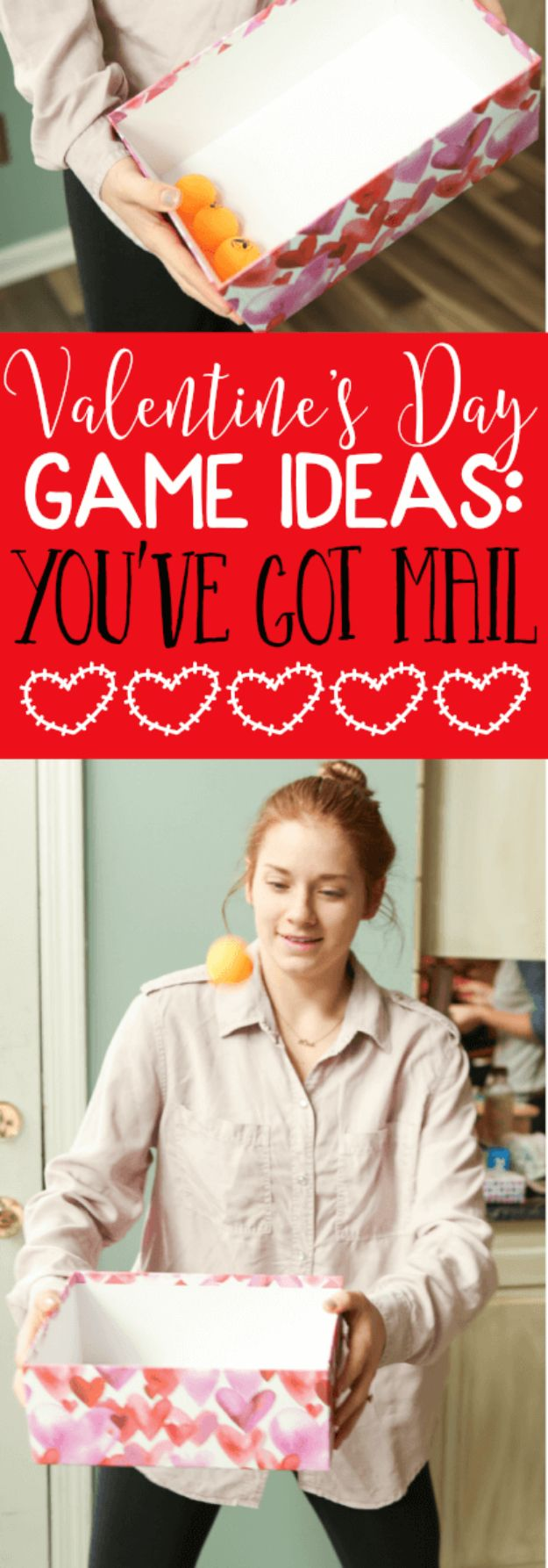Cool Games To Make for Valentines Day - You've Got Mail - Cheap and Easy Crafts For Valentine Parties - Ideas for Kids and Adults to Play Bingo, Matching, Free Printables and Cute Game Projects With Hearts, Red and Pink Art Ideas - Adorable Fun for The Holiday Celebrations #valentine #valentinesday