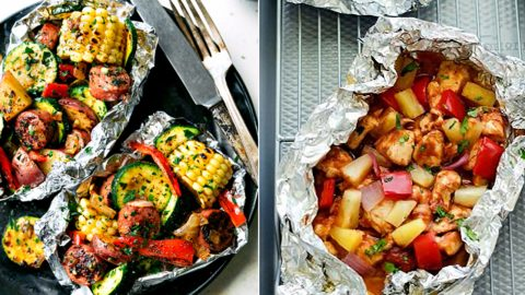 34 Tin Foil Recipes For Camping or A Mess Free Dinner | DIY Joy Projects and Crafts Ideas