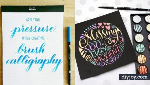 34 Brush Lettering Tutorials You Need In Your Crafting Arsenal