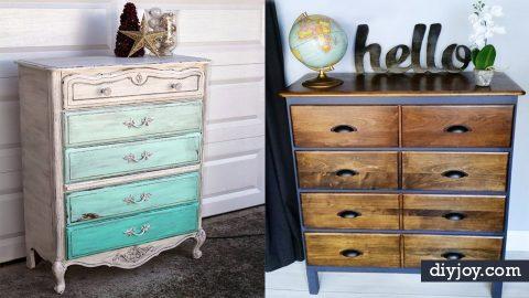 34 DIY Dressers   DIY Joy Projects and Crafts Ideas