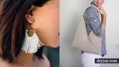 34 Cool and Easy DIY Fashion Ideas for Spring | DIY Joy Projects and Crafts Ideas