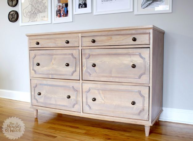 DIY Dressers - Ballard Designs-Inspired Dresser - Simple DIY Dresser Ideas - Easy Dresser Upgrades and Makeovers to Create Cool Bedroom Decor On A Budget- Do It Yourself Tutorials and Instructions for Decorating Cheap Furniture - Crafts for Women, Men and Teens http://diyjoy.com/diy-dresser-ideas