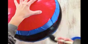 The Awesome Thing She Does With Giant Bouncy Balls Blew My Mind…It's Quite Clever!