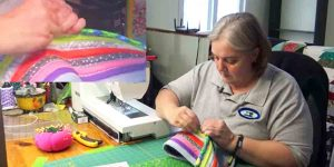 She's Making A Beautiful And Amazing Item That Was On Her Mom's Christmas List. Watch!