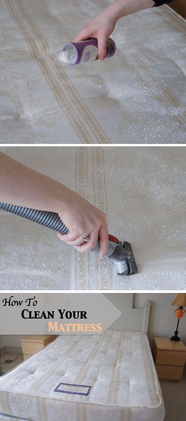 Best Spring Cleaning Ideas - Clean, Deodorize and Care For A Mattress - Easy Cleaning Tips For Home - DIY Cleaning Hacks and Product Recipes - Tips and Tricks for Cleaning the Bathroom, Kitchen, Floors and Countertops - Cheap Solutions for A Clean House #springcleaning