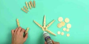 I Was So Surprised When I Saw What She Made With Clothespins. Watch!