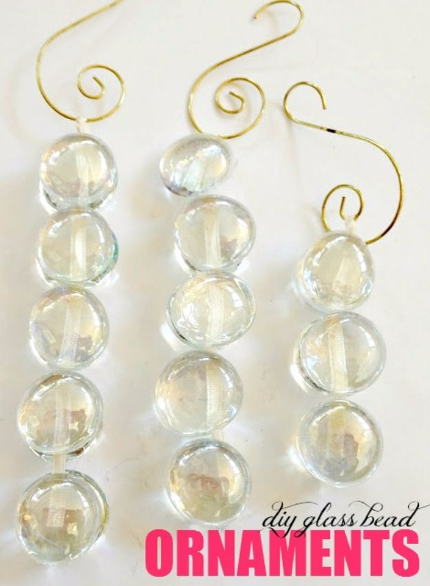 DIY Ideas With Beads - DIY Glass Bead Ornament - Cool Crafts and Do It Yourself Ideas Made With Beads - Outdoor Windchimes, Indoor Wall Art, Cute and Easy DIY Gifts - Fun Projects for Kids, Adults and Teens - Bead Project Tutorials With Step by Step Instructions - Best Crafts To Make and Sell on Etsy