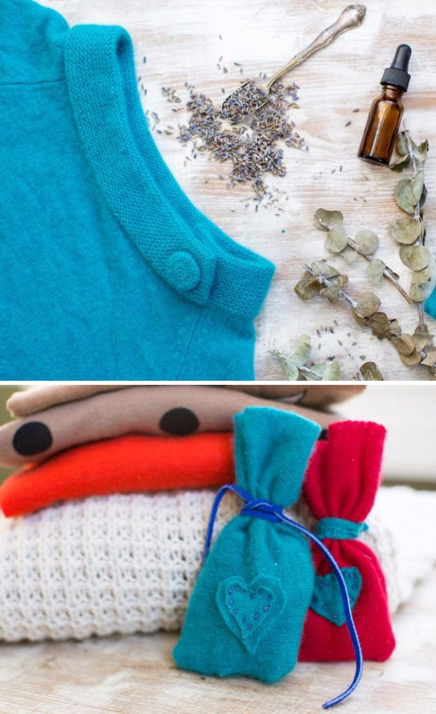 Clothes Hacks - DIY Natural Moth Sachet - DIY Fashion Ideas For Women and For Every Girl - Easy No Sew Hacks for Men's Shirts - Washing Machines Tips For Teens - How To Make Jeans For Fat People - Storage Tips and Videos for Room Decor http://diyjoy.com/diy-clothes-hacks