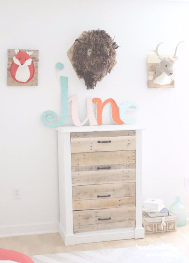 DIY Dressers - DIY Pallet Dresser - Simple DIY Dresser Ideas - Easy Dresser Upgrades and Makeovers to Create Cool Bedroom Decor On A Budget- Do It Yourself Tutorials and Instructions for Decorating Cheap Furniture - Crafts for Women, Men and Teens http://diyjoy.com/diy-dresser-ideas
