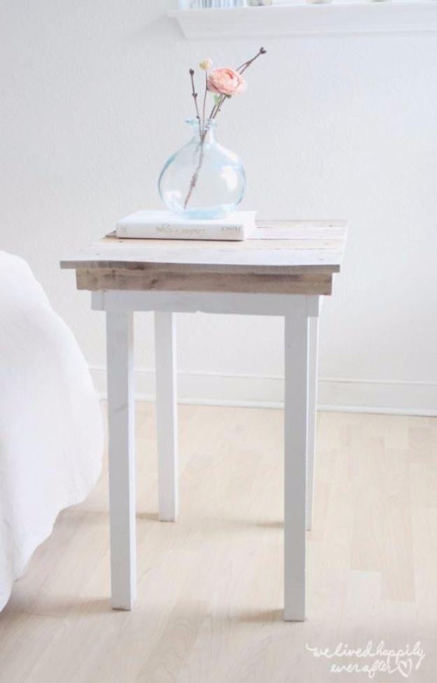 35 Gorgeous Diy Nightstands For Your Bedroom