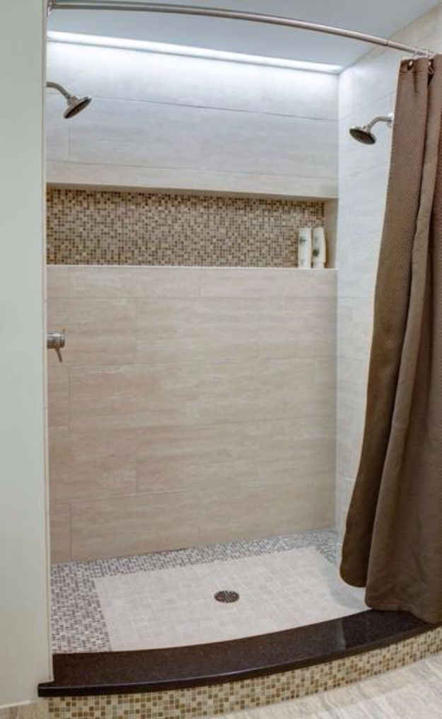 DIY Tile Ideas - Earth Toned Sonoma Tile Scheme - Creative Crafts for Bathroom, Kitchen, Living Room, and Fireplace - Awesome Shower and Bathtub Ideas - Fun and Easy Home Decor Projects - How To Make Rustic Entryway Art http://diyjoy.com/diy-tile-ideas