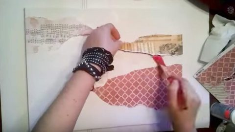 Watch How She Easily Creates This Incredible Piece Of Art With Items She Already Has! | DIY Joy Projects and Crafts Ideas