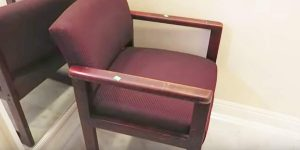 Watch The Incredible And Easy Way She Transforms An Ugly Old Chair!