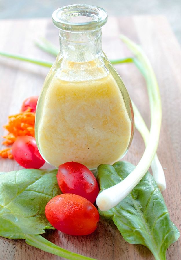 Salad Dressing Recipes - Parmesan Vinaigrette - Healthy, Low Calorie and Easy Recipes for Creamy Homeade Dressings - How To Make Vinaigrette, Mango, Greek, Paleo, Balsamic, Ranch, and Italian Copycat Dressings