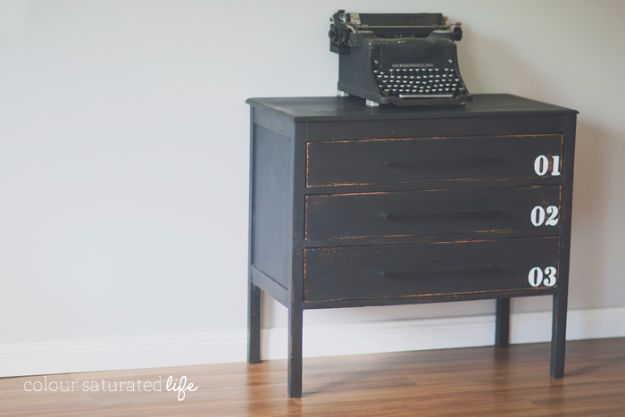 DIY Dressers - Pottery Barn Industrial Dresser Knock-Off - Simple DIY Dresser Ideas - Easy Dresser Upgrades and Makeovers to Create Cool Bedroom Decor On A Budget- Do It Yourself Tutorials and Instructions for Decorating Cheap Furniture - Crafts for Women, Men and Teens http://diyjoy.com/diy-dresser-ideas
