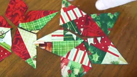 She Sews These Quilted Stars And Watch What She Makes With Them Next!   DIY Joy Projects and Crafts Ideas
