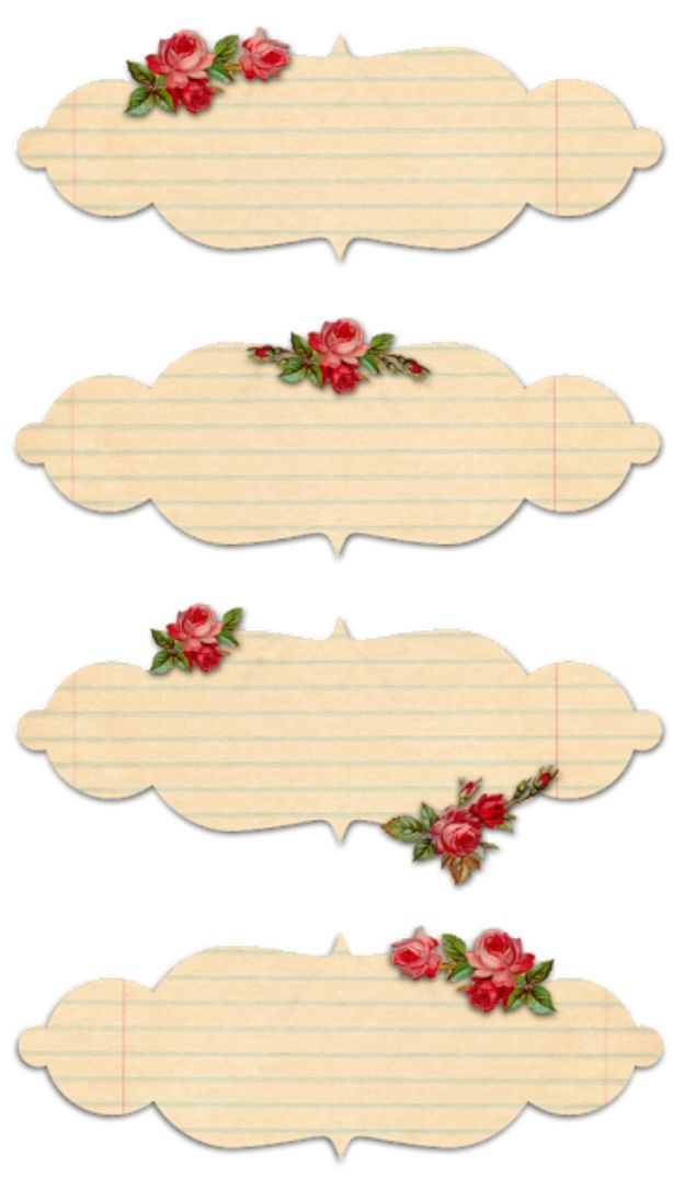 Best Free Printables for Crafts - Shabby Rose Digital Labels - Quotes, Templates, Paper Projects and Cards, DIY Gifts Cards, Stickers and Wall Art You Can Print At Home - Use These Fun Do It Yourself Template and Craft Ideas for Your Next Craft Projects - Cute Arts and Crafts Ideas for Kids and Adults to Make on Printer / Printable http://diyjoy.com/best-free-printables-crafts