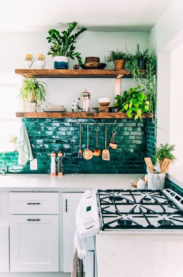 DIY Tile Ideas - Shiny Moroccan Zellige Tiles - Creative Crafts for Bathroom, Kitchen, Living Room, and Fireplace - Awesome Shower and Bathtub Ideas - Fun and Easy Home Decor Projects - How To Make Rustic Entryway Art #homeimprovement #diy