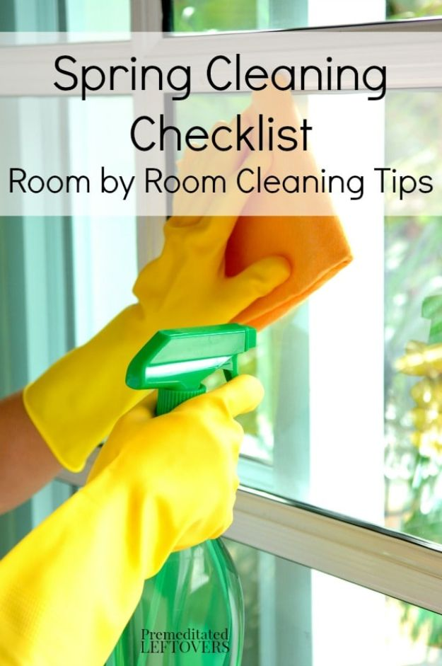 Best Spring Cleaning Ideas - Spring Cleaning Checklist - Easy Cleaning Tips For Home - DIY Cleaning Hacks and Product Recipes - Tips and Tricks for Cleaning the Bathroom, Kitchen, Floors and Countertops - Cheap Solutions for A Clean House #springcleaning