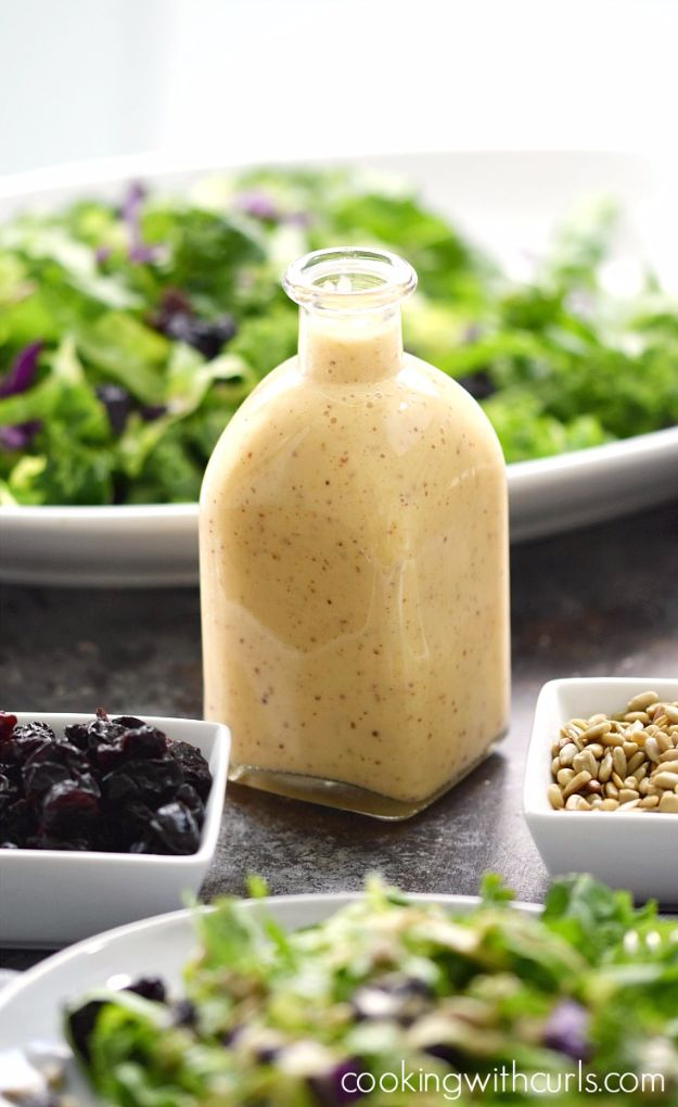 Salad Dressing Recipes - Sweet Onion And Citrus Dressing - Healthy, Low Calorie and Easy Recipes for Creamy Homeade Dressings - How To Make Vinaigrette, Mango, Greek, Paleo, Balsamic, Ranch, and Italian Copycat Dressings