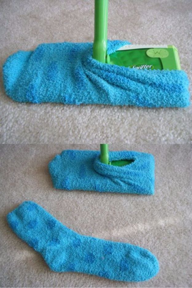 Best Spring Cleaning Ideas - Swift Dust Socks - Easy Cleaning Tips For Home - DIY Cleaning Hacks and Product Recipes - Tips and Tricks for Cleaning the Bathroom, Kitchen, Floors and Countertops - Cheap Solutions for A Clean House #springcleaning
