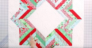 Sewing Tutorial – Quilted Tree Skirt
