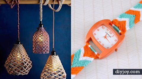 36 Macrame Crafts for the Creative DIYer | DIY Joy Projects and Crafts Ideas