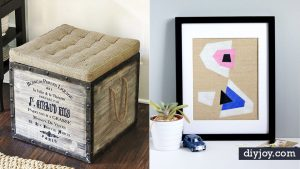 34 Creative DIY Burlap Decor Ideas