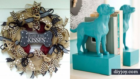 34 DIY Ideas For The Dog Lover | DIY Joy Projects and Crafts Ideas