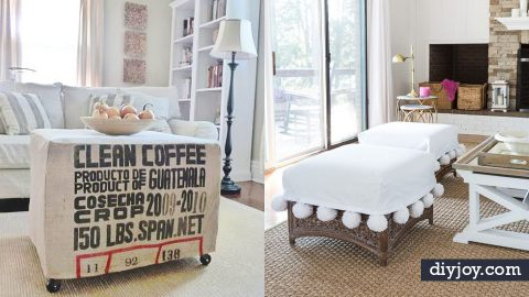 34 DIY Slipcovers For Chairs, Couches and More | DIY Joy Projects and Crafts Ideas