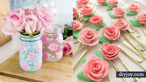 34 Most Beautiful Rose Crafts Ever Created | DIY Joy Projects and Crafts Ideas