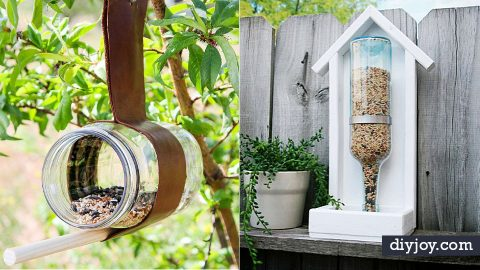35 DIY Bird Feeders To Make | DIY Joy Projects and Crafts Ideas
