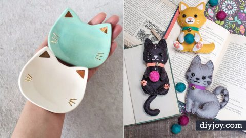 35 Cutest DIY Ideas With Cats | DIY Joy Projects and Crafts Ideas