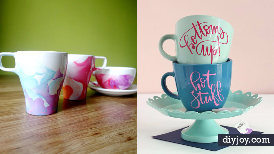 Diy Coffee Mugs Easy Mug Ideas For Homemade Gifts And Crafts Decorate Your