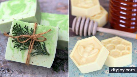 36 DIY Soap Recipes | DIY Joy Projects and Crafts Ideas