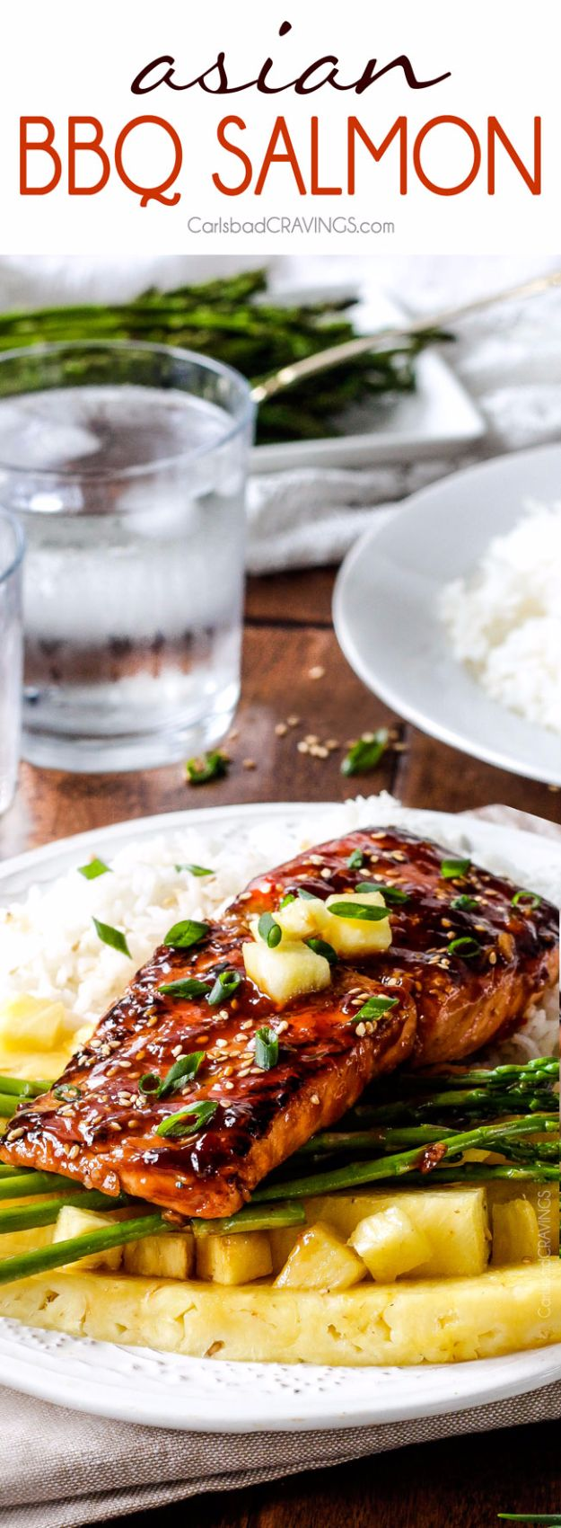 Best Barbecue Recipes - Asian BBQ Salmon - Easy BBQ Recipe Ideas for Lunch, Dinner and Quick Party Appetizers - Grilled and Smoked Foods, Chicken, Beef and Meat, Fish and Vegetable Ideas for Grilling - Sauces and Rubs, Seasonings and Favorite Bar BBQ Tips #bbq #bbqrecipes #grilling