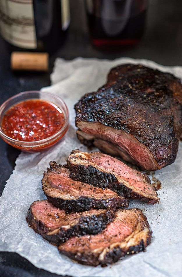 Best Barbecue Recipes - BBQ Marinated Butterflied Leg Of Lamb - Easy BBQ Recipe Ideas for Lunch, Dinner and Quick Party Appetizers - Grilled and Smoked Foods, Chicken, Beef and Meat, Fish and Vegetable Ideas for Grilling - Sauces and Rubs, Seasonings and Favorite Bar BBQ Tips #bbq #bbqrecipes #grilling