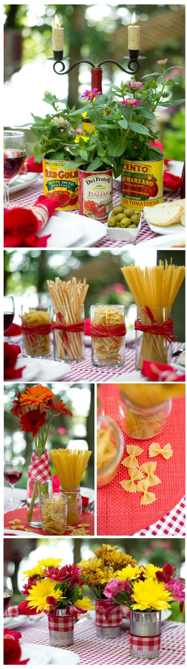 Best Dinner Party Ideas - Budget Centerpiece - Best Recipes for Foods to Serve, Casseroles, Finger Foods, Desserts and Appetizers- Place Settings and Cards, Centerpieces, Table Decor and Recipe Ideas for Supper Clubs and Dinner Parties http://diyjoy.com/best-dinner-party-ideas