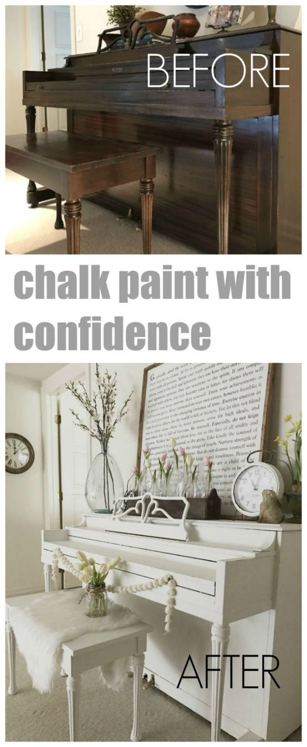DIY Painting Hacks - Chalk Paint With Confidence - Easy Ways To Shortcut House Painting - Wall Prep, Painters Tape, Trim, Edging, Ceiling, Exterior Cutting In, Furniture and Crafts Paint Tips - Paint Your House Or Your Room With These Time Saving Painter Hacks and Quick Tricks http://diyjoy.com/diy-painting-hacks
