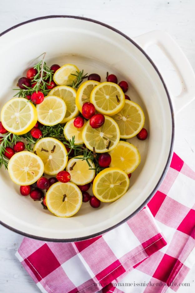 DIY Home Fragrance Ideas - Citrus Holiday Potpourri - Easy Ways To Make your House and Home Smell Good - Essential Oils, Diffusers, DIY Lampe Berger Oil, Candles, Room Scents and Homemade Recipes for Odor Removal - Relaxing Lavender, Fresh Clean Smells, Lemon, Herb http://diyjoy.com/diy-home-fragrance-ideas