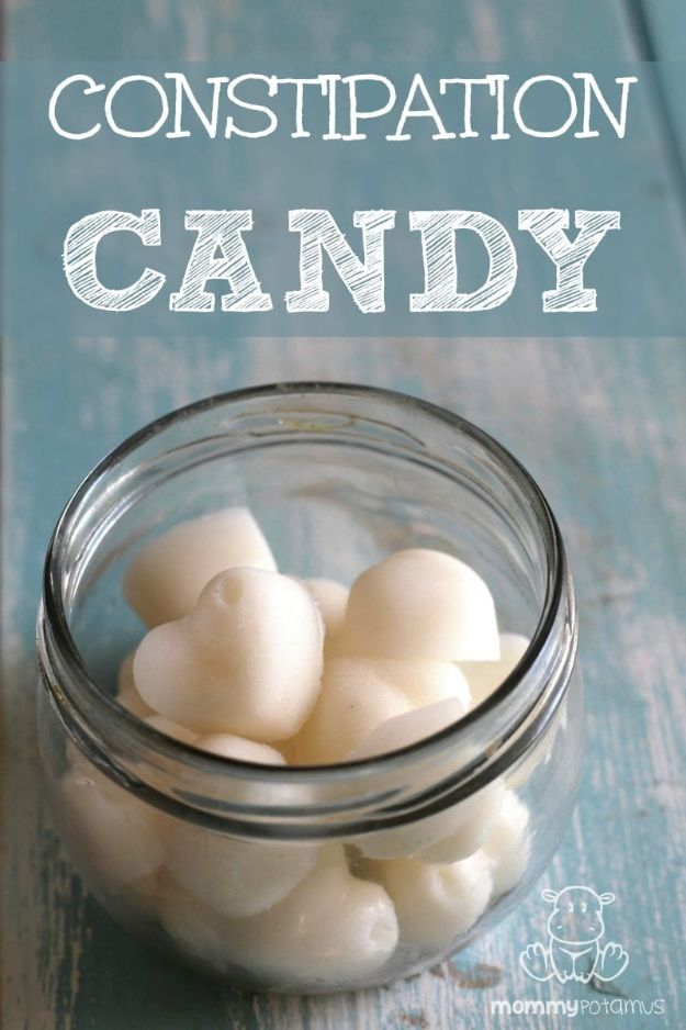 DIY Home Remedies - Constipation Candy - Homemade Recipes and Ideas for Help Relieve Symptoms of Cold and Flu, Upset Stomach, Rash, Cough, Sore Throat, Headache and Illness - Skincare Products, Balms, Lotions and Teas - Homeopathic Solutions and Remedy for Common Sickness http://diyjoy.com/diy-home-remedies
